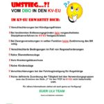 Umstieg DBO-KV zu EU-KV